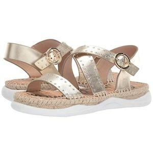 Sam Edelman Janette Gold Strappy Sandal